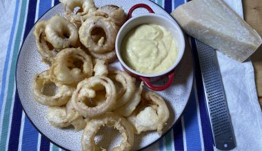 sourdough discard onion rings